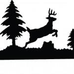 Jumping Deer